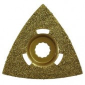 Flush Cut Triangular Rockwell SoniCrafter Fitting Carbide Rasp
